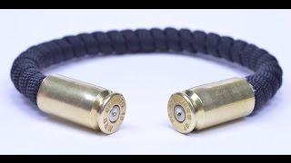 Make A Bullet Casing Paracord Bracelet - BoredParacord.com