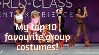 My Top 10 Favourite Group Costumes (collab)