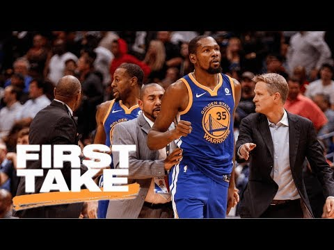 First Take reacts to Kevin Durant's ejection after fight with DeMarcus Cousins | First Take | ESPN