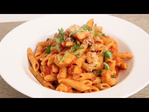 Penne Vodka with Chicken Recipe – Laura Vitale – Laura in the Kitchen Episode 862