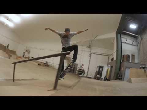 Marcus Sarsycki - Fargo Skateboarding Winter Skatepark HD EDIT