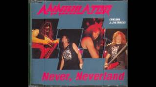 Annihilator - Never, Neverland (Single)