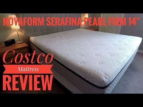 Costco Mattress Review – Novaform 14″ Serafina Pearl King Firm