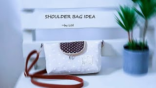 SHOULDER BAG | CROSSBODY BAG | DIY BAG | ZIPPER BAG | HANDMADE BAG TUTORIAL 수제 패키지 교육 과정 / #HandyMum