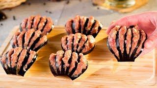Фаршированные баклажаны в духовке - более чем вкусно, сочно или празднично!   Appetitno.TV