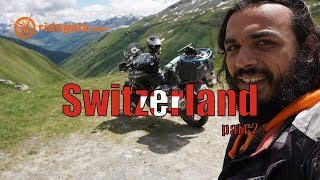 Ep 51 - Switzerland (part 2) - Around Europe on a Motorcycle