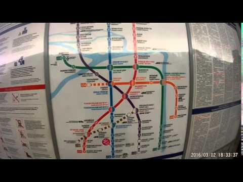 Карта метро Санкт-Петербурга
