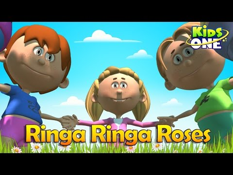 Ringa Ringa Roses English Nursery Rhyme For Children