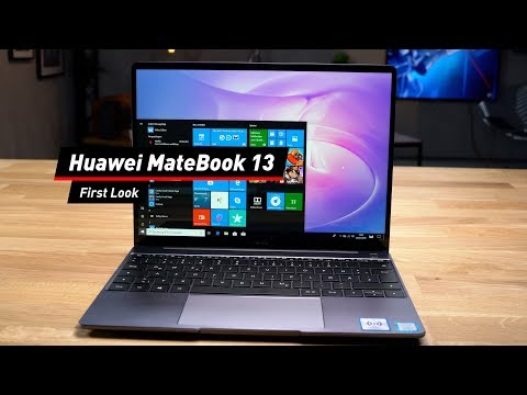 Huawei MateBook 13: Günstige Alternative zum MacBook Air