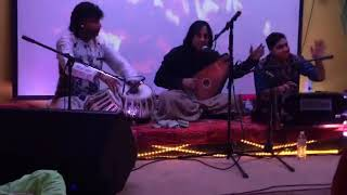 """Anokha Laadla "" raag darbari | Ustad Shafqat Ali Khan | Tabla Haroon"