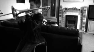 "Practising Trombone Shorty's ""BUCKJUMP"""