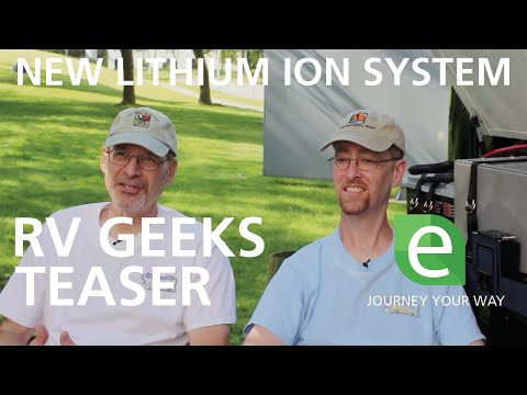 PYS and RV Geeks Install a FREEDOM eGEN Lithium Ion Battery