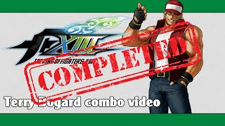 KoF XIII: Terry Bogard combo video (FINAL VERSION)