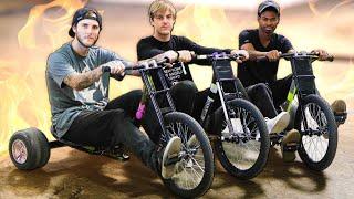 Insane Drift Trike Challenge!