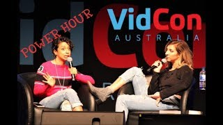 Power Hour With Gabbie and Liza at VidCon Australia