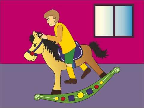 Canzone per bambini | Canzone cavallo a dondolo