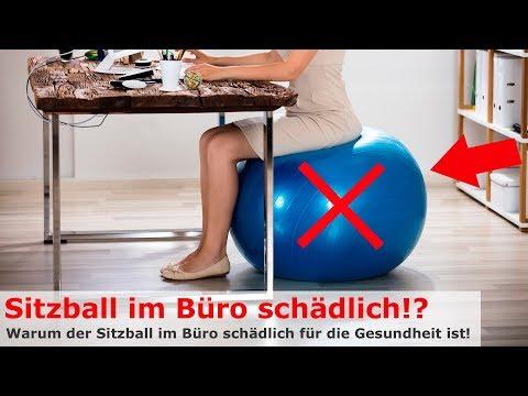 Sitzball im Büro schädlich für die Gesundheit! | Corpus Motum
