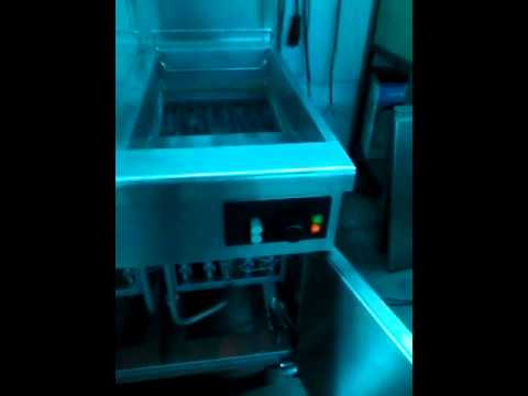 Friggitrice gas 2 vasche Zanussi