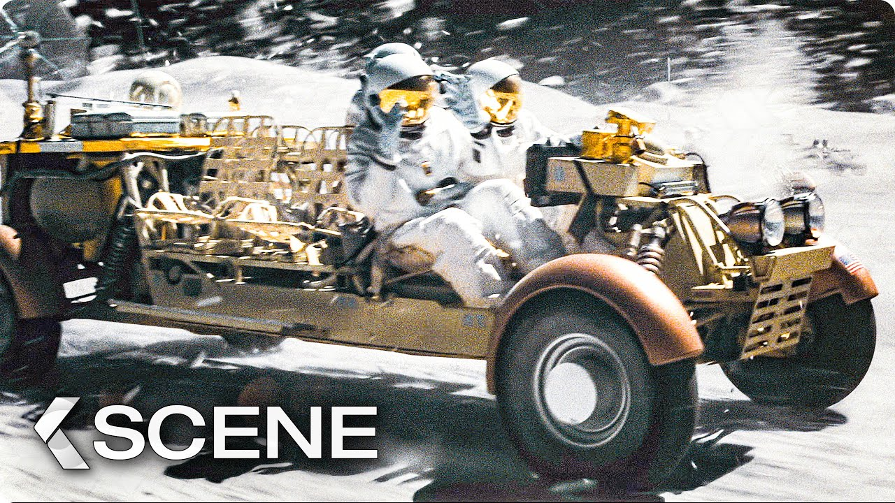 Moon Rover Chase Scene - Ad Astra, 2019