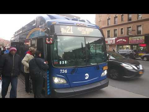Mta 2017 New Flyer Xn40 Cng Low Floor 736 Bx32 Bus смотреть