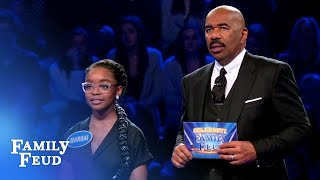 Can Marsai and Miles lead Team black-ish to $25,000? | Celebrity Family Feud