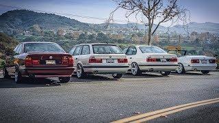На что способен фанат БМВ? Майк и его гараж мечты. Сколько стоят BMW M5 E34 и E30 кабрио в идеале?