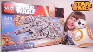 [LEGO STAR WARS] Falcon Millenium set 75105 - Studio Bubble Tea unboxing Millennium Falcon