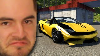 Crashing My New Lamborghini