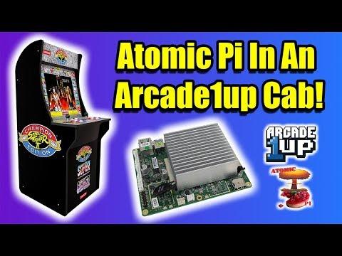 Arcade1Up Raspberry Pi Arcade Emulator Mod for Centipede Cabinet