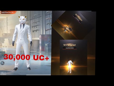 Smooth Hitman crate opening 30,000+ UC🇳🇵🇳🇵!!Can we get UAZ skin?🔥🇳🇵giveaway info on new video