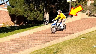Dirtbike at UCLA!