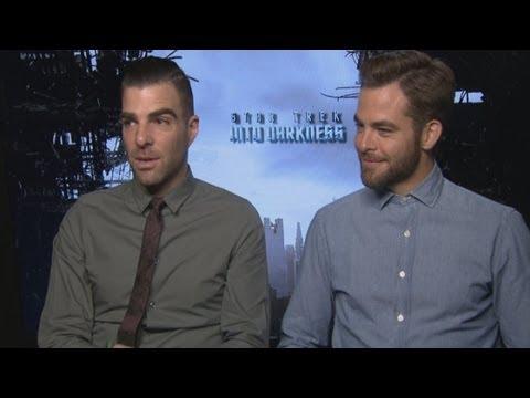 Star Trek Into Darkness: Chris Pine & Zachary Quinto on working with Benedict Cumberbatch