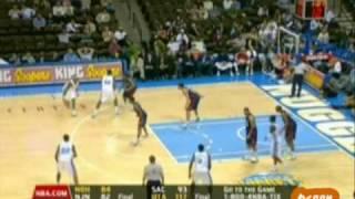 Allen Iverson 37pts 8asts vs King James Cavaliers 07/08 NBA