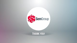 Thank you, SemGroup!