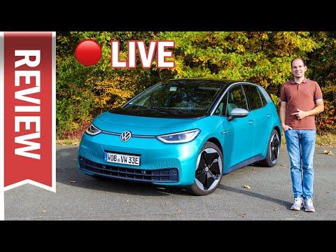VW ID.3 im Live Test: Eure Fragen zu Reichweite, Fahren, Technik, Assistenzsystemen