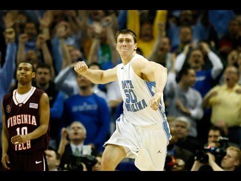 Carolina Basketball: Tyler Hansbrough Game Winner vs. VT in 2008 ACC Tournament