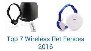 7 Best Wireless Pet Fences 2016