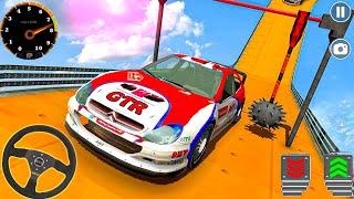 Impossible Mega Ramp Sports Car Stunt Drive – Multi Level Speed Car Stunts – Android Gameplay