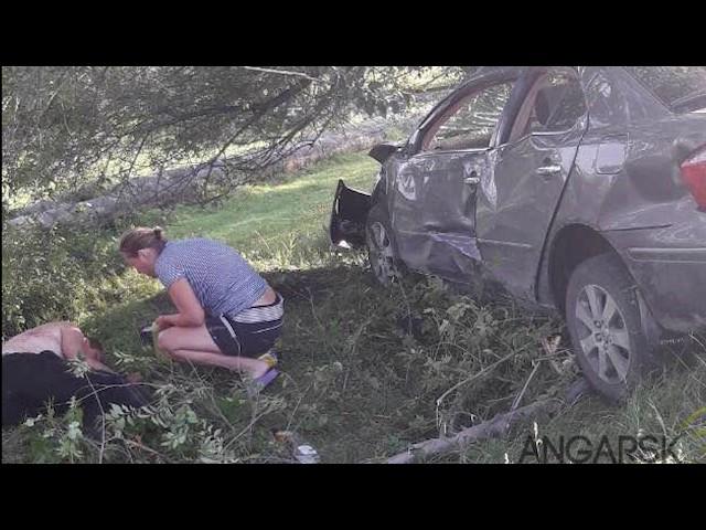 Машина – вдребезги, пострадавшие в реанимации