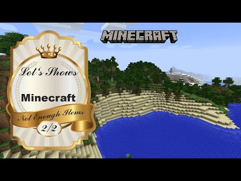 Not Enough Items (NEI) ★ Let's Show - Minecraft 1.7.10 - Mod Tutorials - (2/2) [German/Deutsch][HD]