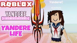 Yandere Life Yandere Simulator In Roblox Minecraftvideos Tv
