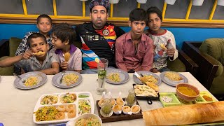 Poor kids first time eating in 5star hotel *Epic Reaction*