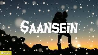 Saansein - Prateek Kuhad (LYRICS) - YouTube