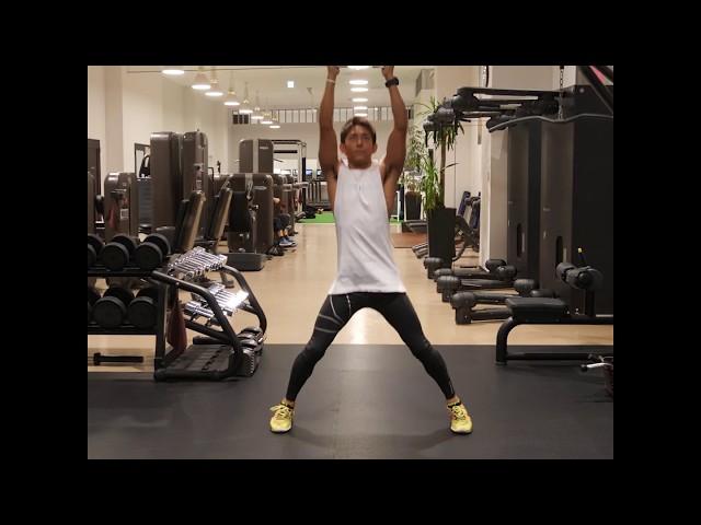 【全身網羅】ダンベルを使って身体全体を鍛える!