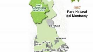preview picture of video 'Límits del Parc Natural Montseny a Sant Pere de Vilamajor'