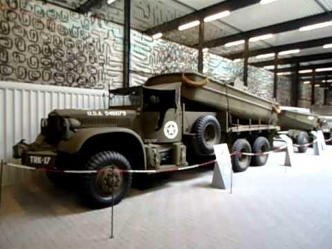 Marshall museum in het Liberty Park te Overloon