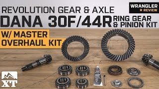 Jeep Wrangler Revolution Gear & Axle Dana 5.13 30F 44R Kit (2007-2018 JK & JL) Review