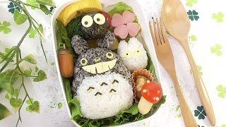 TotoroBentoLunchBoxKyarabenトトロキャラ弁弁当の作り方!簡単!