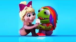 "Kermit and Miss Piggy Sing ""FEFE"" - 6ix9ine, Nicki Minaj, Murda Beatz"