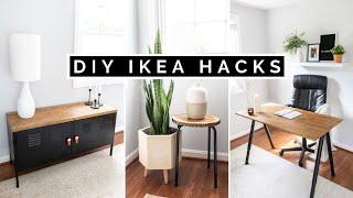 DIY IKEA HACKS | AFFORDABLE DIY HOME DECOR + IKEA FURNITURE HACKS FOR 2020